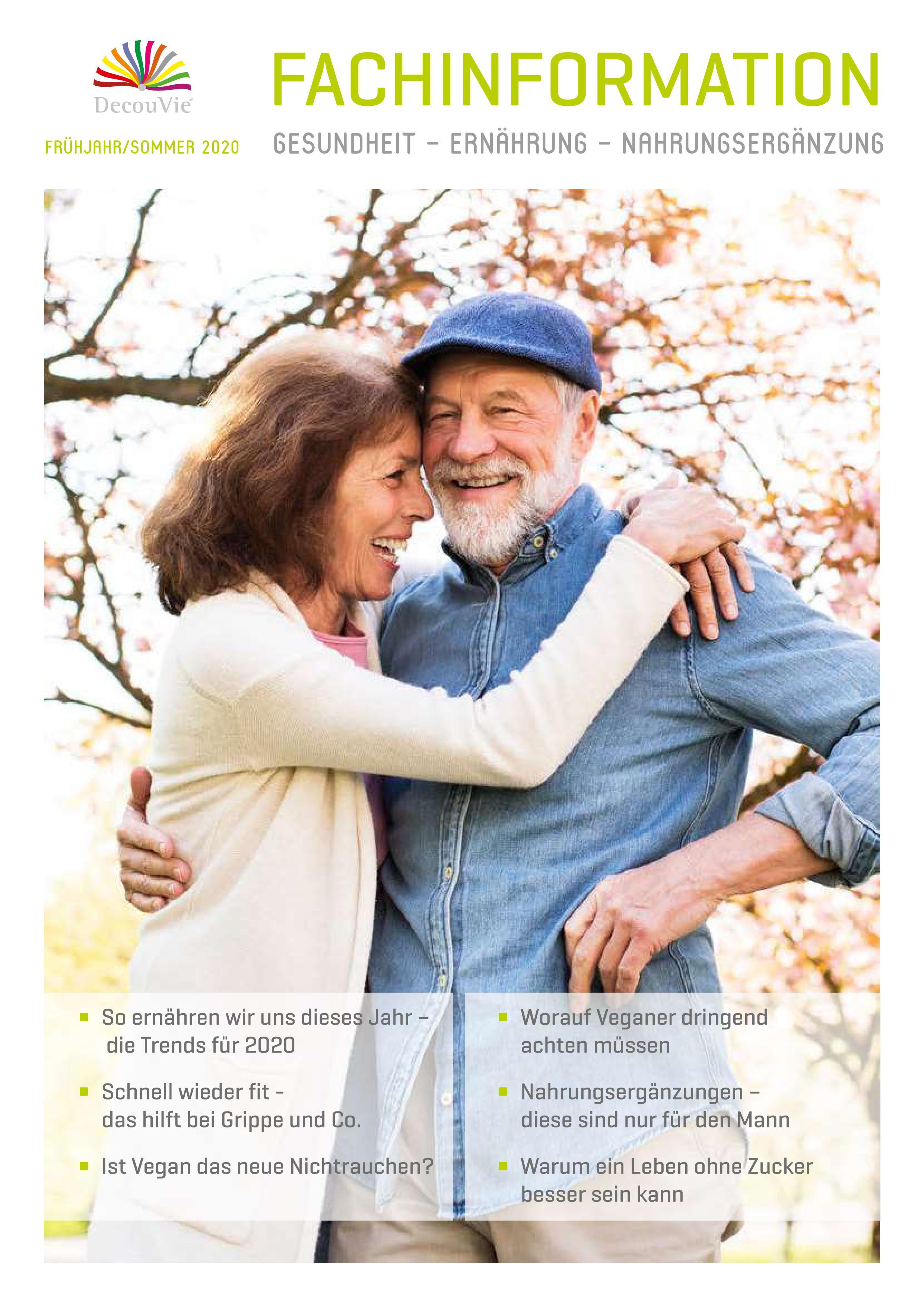 Fachinformation von DecouVie für Apotheker, Ärzte und Heilpraktiker, 52 Seiten